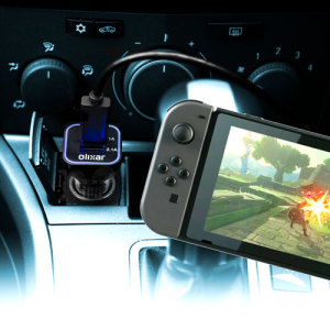 Olixar High Power Nintendo Switch Car Charger & USB-C Cable