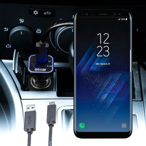 Olixar High Power Samsung Galaxy S8 Plus Car Charger