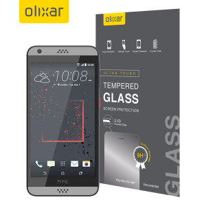 Olixar HTC Desire 530 / 630 Tempered Glass Screen Protector