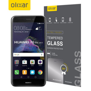 Olixar Huawei P8 Lite 2017 Tempered Glass Screen Protector