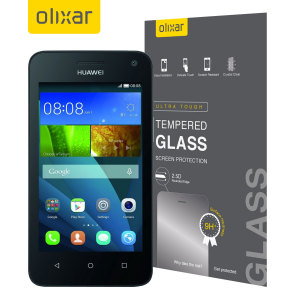 Olixar Huawei Y3 Tempered Glass Screen Protector