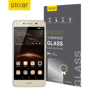 Olixar Huawei Y5II Tempered Glass Screen Protector
