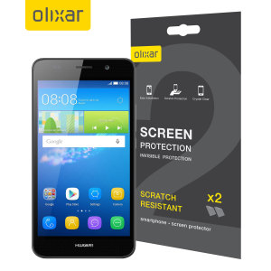 Olixar Huawei Y6 Screen Protector 2-in-1 Pack