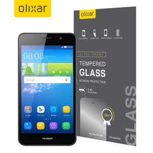 Olixar Huawei Y6 Tempered Glass Screen Protector