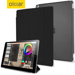 Olixar iPad Pro 12.9 inch Smart Cover with Hard Case - Black