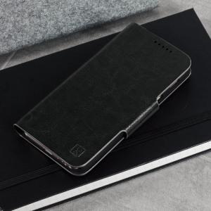 Olixar Leather-Style Samsung Galaxy A3 2017 Wallet Case - Black
