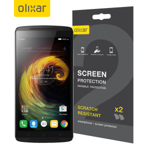 Olixar Lenovo K4 Note Screen Protector 2-in-1 Pack