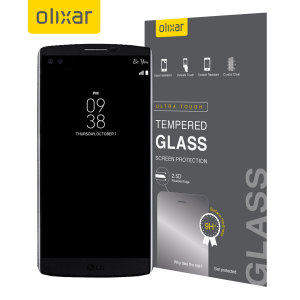Olixar LG V10 Tempered Glass Screen Protector