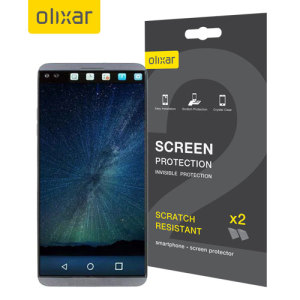 Olixar LG V20 Screen Protector 2-in-1 Pack