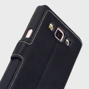 Olixar Low Profile Samsung Galaxy A5 2015 Wallet Case - Black