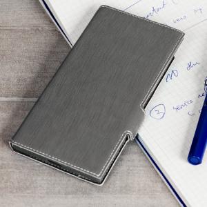 Olixar Low Profile Sony Xperia XZ Premium Wallet Case - Grey