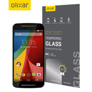 Olixar Moto G 2nd Gen Tempered Glass Screen Protector