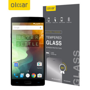 Olixar OnePlus 2 Tempered Glass Screen Protector
