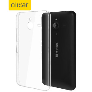 Olixar Polycarbonate Microsoft Lumia 640 XL Shell Case - 100% Clear