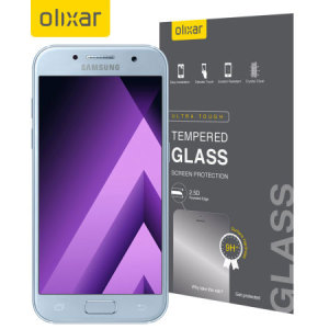 Olixar Samsung Galaxy A3 2017 Tempered Glass Screen Protector