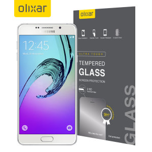 Olixar Samsung Galaxy A7 2016 Tempered Glass Screen Protector
