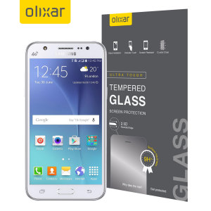 Olixar Samsung Galaxy J5 2015 Tempered Glass Screen Protector