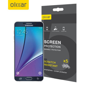 Olixar Samsung Galaxy Note 5 Screen Protector 5-in-1 Pack