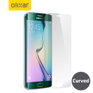 olixar samsung galaxy s6 edge plus curved screen protector separate element