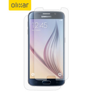 Olixar Samsung Galaxy S6 Front & Back Screen Protector Pack