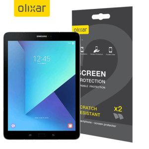 Olixar Samsung Galaxy Tab S3 Screen Protector 2-in-1 Pack