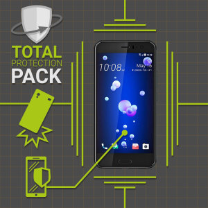 Olixar Total Protection HTC U11 Case & Screen Protector