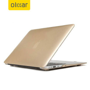 Olixar ToughGuard MacBook Air 11 inch Hard Case - Champagne Gold