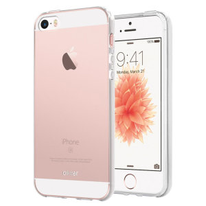 Olixar Ultra-Thin iPhone SE Gel Case - 100% Clear