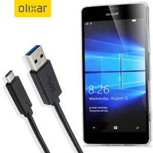 Olixar USB-C Microsoft Lumia 950 Charging Cable