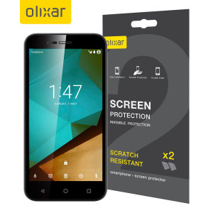 Olixar Vodafone Smart Prime 7 Screen Protector 2-in-1 Pack
