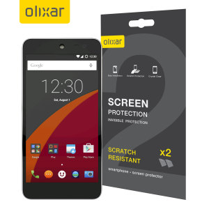 Olixar Wileyfox Swift Screen Protector 2-in-1 Pack