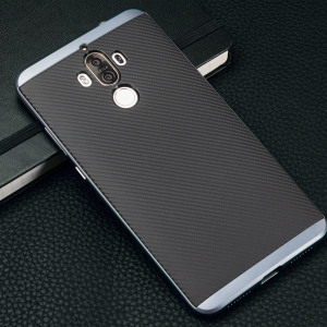 Olixar X-Duo Huawei Mate 9 Case - Carbon Fibre Metallic Grey