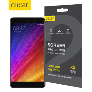 Olixar Xiaomi Mi 5s Plus Screen Protector 2-in-1 Pack