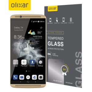 Olixar ZTE Axon 7 Tempered Glass Screen Protector