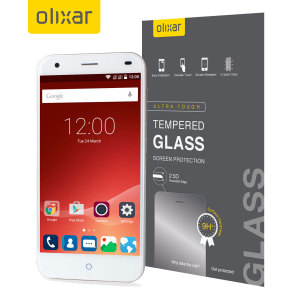 Olixar ZTE Blade S6 Tempered Glass Screen Protector