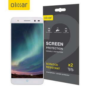 Olixar ZTE Blade V7 Lite Screen Protector 2-in-1 Pack
