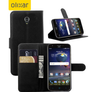 Olixar ZTE Grand X3 Wallet Case - Black