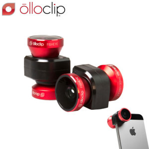 olloclip 4-IN-1 Lens Kit for iPhone 5S / 5 - Red