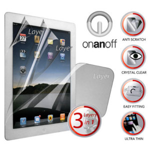 Onanoff Multi-Shield Screen Protector for iPad 2
