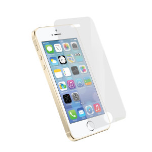 Orzly Premium Tempered Glass Screen Protector for iPhone 5S / 5C / 5