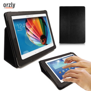Orzly Stand and Type Case for Galaxy Tab 3 10.1 - Black
