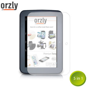 Orzly Tesco Hudl Screen Protector Pack 5-in-1