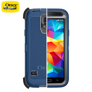 OtterBox Defender Series Samsung Galaxy S5 Protective Case - Blue