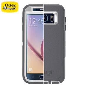 OtterBox Defender Series Samsung Galaxy S6 Case - Glacier