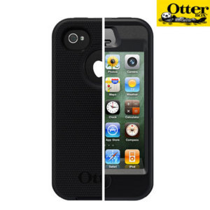 OtterBox For iPhone 4S Defender Series - Black