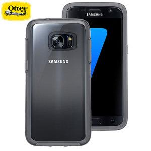 OtterBox Symmetry Clear Samsung Galaxy S7 Case - Grey