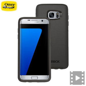 otterbox symmetry samsung galaxy s7 edge case   black