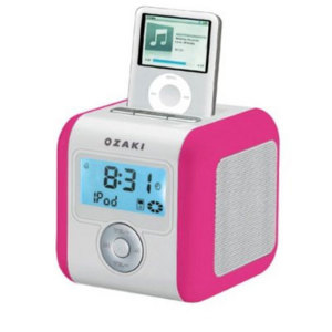ozaki imini cute ipod dock pink. Black Bedroom Furniture Sets. Home Design Ideas