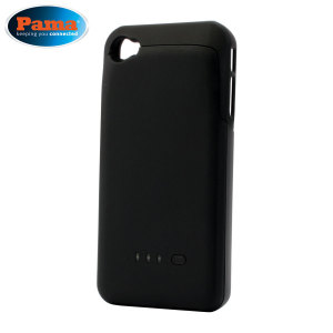 Pama Plug 'n' Go Power Pack for iPhone 4S / 4 - Black