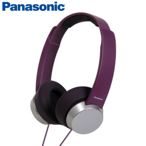 Panasonic HXD3 Headphones - Violet